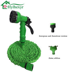 25-200FT расширяемый горячий волшебный гибкий садовый водяной шланг для автомобильного шланга пластиковые шланги садовый набор для полива с