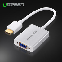 Ugreen HDMI To VGA Cable Mini Micro HDMI Male To VGA Adapter With 3 5mm Audio