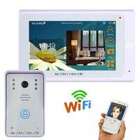 7inch Wired / Wireless Wifi IP Video Door Phone Doorbell Intercom 720P WIFI Doorbell for IOS Android Phone 1000TV Lines