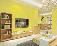 Beibehang Solid Color PVC Wallpaper Linen Plain Dark Waterproof Wall Paper Bedroom Living Room Hotel Hotel