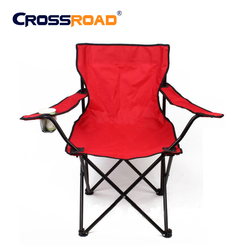 ФОТО  Large50X50X80cm High quality metal chair Outdoor furniture Camping barbecue fishing beach  lightweight folding chair portable