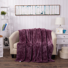 Home Textile Weighted Blanket Throw Plaid Solid Color Warm Flannel Blankets For Beds Coral Sofa A Blanket Bed Sheets Quilt Cover