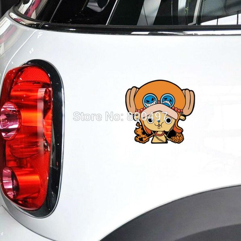 10 X Funny Car-covers Car Sticker One Piece Chopper Flying Decal For Ford Chevrolet Volkswagen Honda Hyundai Peugeot Kia Skoda