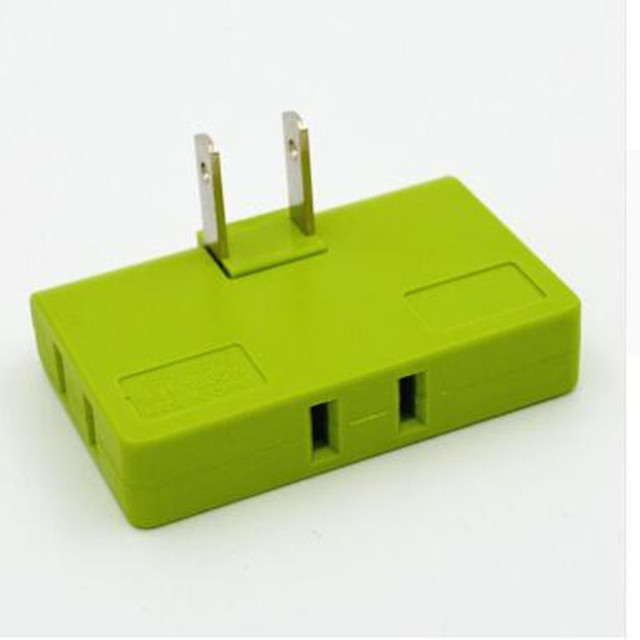3 Way Outlet Chrysler Sebring Radio Wiring Diagram 1pcs Split 1 Into A Us Plug Power Charger Adapter