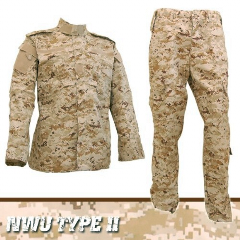 CQC Tactical Airsoft Military Army Combat BDU Uniform Men Jacket & Pants Set Camouflage Outdoor Paintball Hunting Digi-Desert