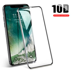 10D Tempered Glass On For iPhone 6 6s 7 8 X XS Full Cover Protective Glass For iPhone 7 8 Plus XS XR XS Max Screen Protector