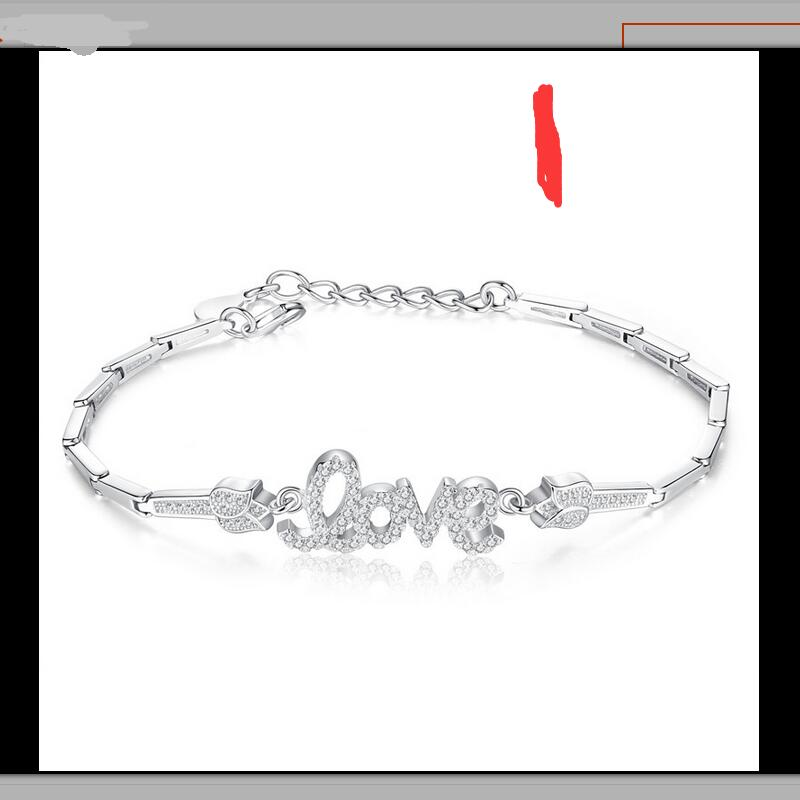 633ZHAO jewelry select Style S925 silver bracelet female birthday gift New style