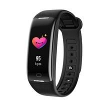 Ios/xiaomi smart watch 용 z21 스마트 팔찌 단계별 방수 심박수 수면 모니터링