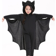 Neutral Children Pants Bat Modeling Dress Halloween Stage Performance Serve Catamite