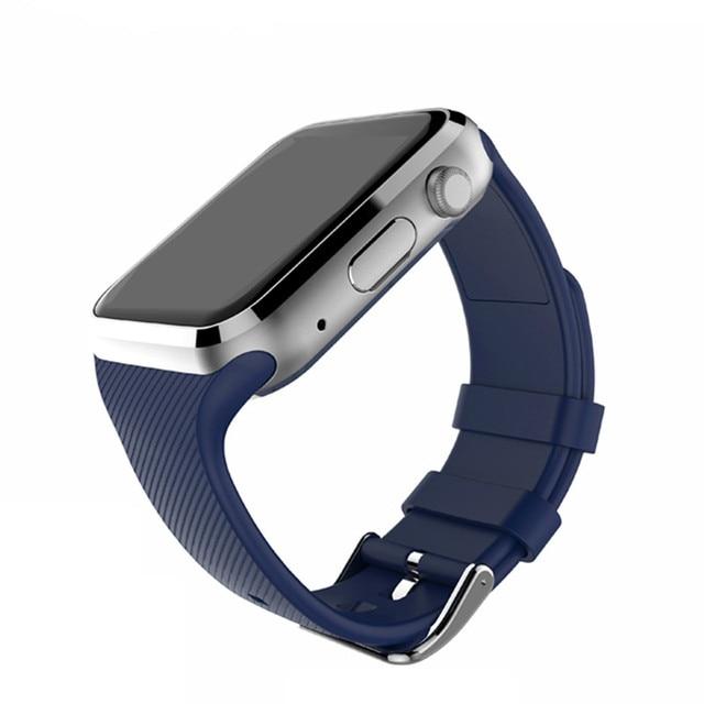 Gd19 wearable dispositivos smart watch wach conectado androide reloj inteligente tarjeta de la ayuda sim smartwatch teléfono pk gt08 f69 kw88 kw18