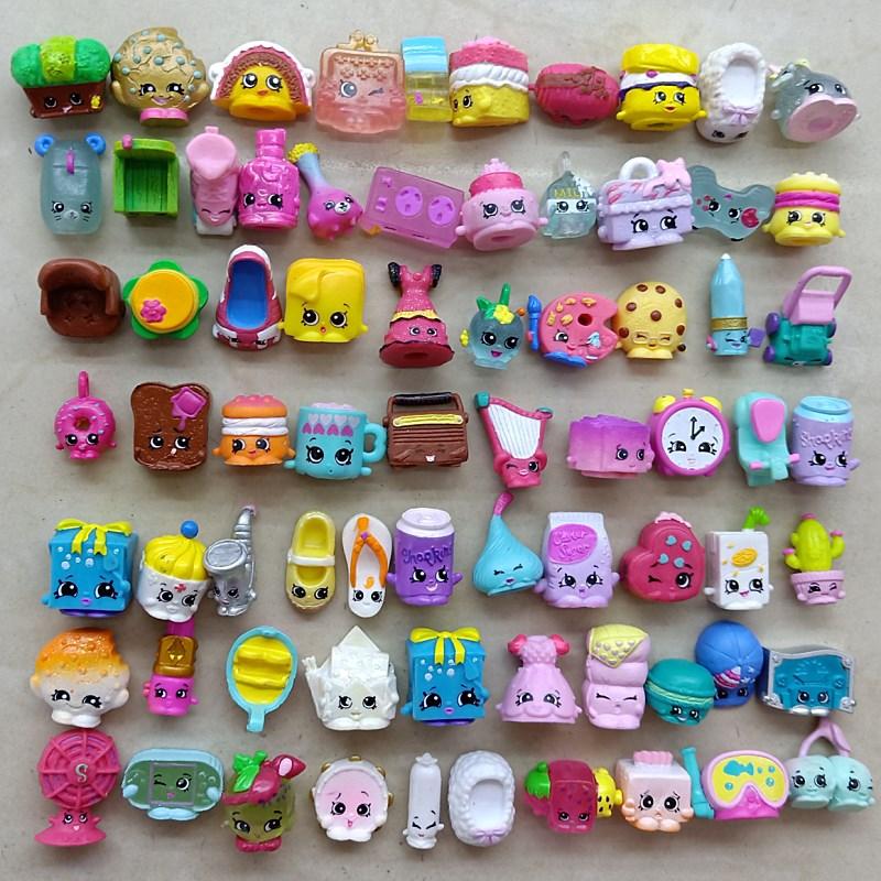 25 шт./лот, миниатюрные куклы с фруктами для покупок, игрушки для всей семьи, детские фигурки для маленьких фигурок, рождественский подарок, р...
