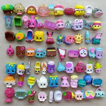 25pcs/lot Miniature Shopping Fruit Dolls Toys For Family Kids Action Figures For Little Figurines Christmas Gift Mixed Seasons