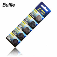 100pcs/20pack New CR2025 BR2025 2025 DL2025 KCR2025 LM2025 Li-ion Lithium 3V Button Cell Coin Battery Car Remote
