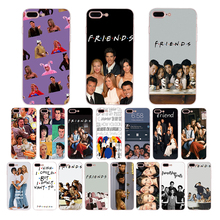 Soft Phone Case For iPhone 7Plus 8 X 6 6S Plus 5 5S SE XS MAX XR Friends TV Show Funny Central Perk Park TPU Cover Coque Fundas