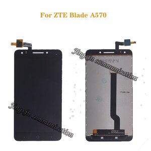 Image 1 - Para ZTE Blade A570 pantalla LCD + MONTAJE DE digitalizador con pantalla táctil reemplazo 100% prueba Original envío gratis + herramientas