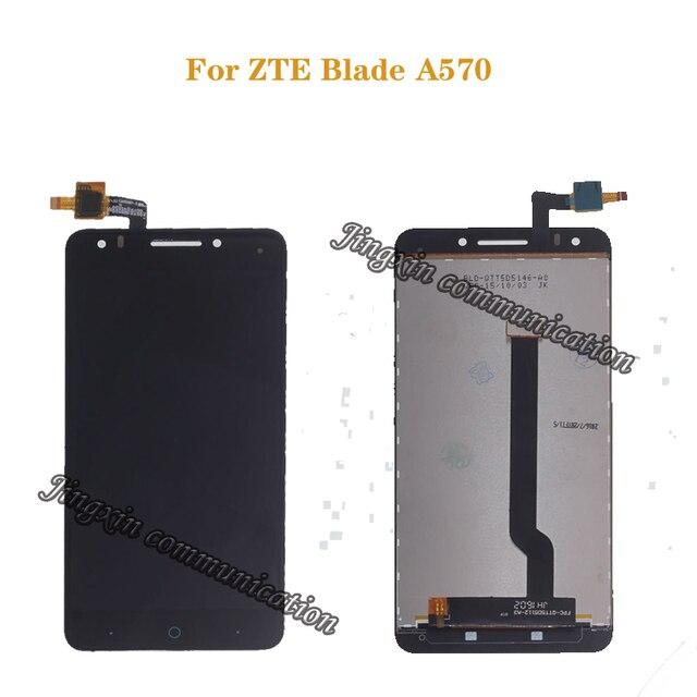 לzte להב A570 LCD תצוגה + מסך מגע Digitizer עצרת החלפת 100% מקורי נבדק משלוח חינם + כלים