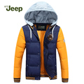 Hot Sale men's winter Down Coat 2016 AFS JEEP winter warm parka fashion casual Down parkas men jacket thick Down Jacket 130