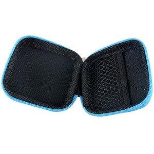Image 3 - Kopfhörer Fall Reise Lagerung Tasche Für Kopfhörer Datenkabel Ladegerät Lagerung Taschen