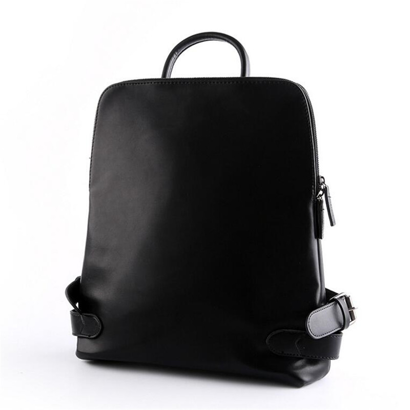 Famous Brand Leather Men Backpack Bags School Bag Laptop