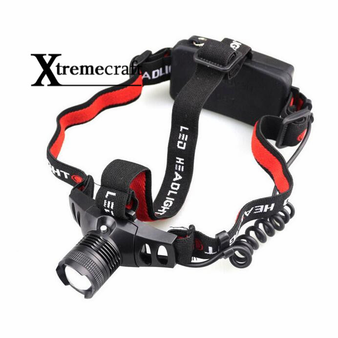 Mini Q5 LED Headlight Headlamp Head Lamp Light Zoomable Zoom in out For AAA or 18650