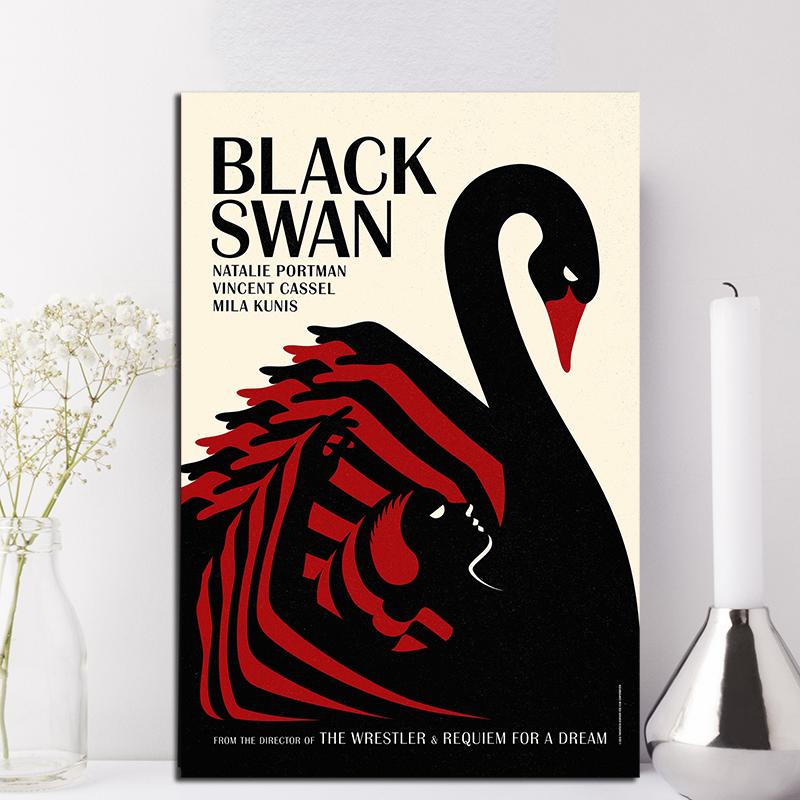 Black Swan Classic Movie Marvel Wall Art Canvas Poster Print Decoration Picture For Living Room Bedroom Decor