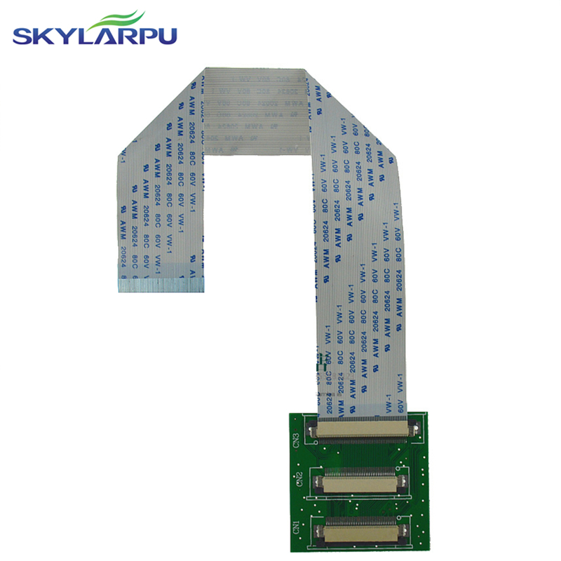 skylarpu High score <font><b>LCD</b></font> screen drive transfe board Flat cable <font><b>50</b></font> <font><b>pin</b></font> turns 40 <font><b>pin</b></font> double-breasted button 1026*600 1024*768 image