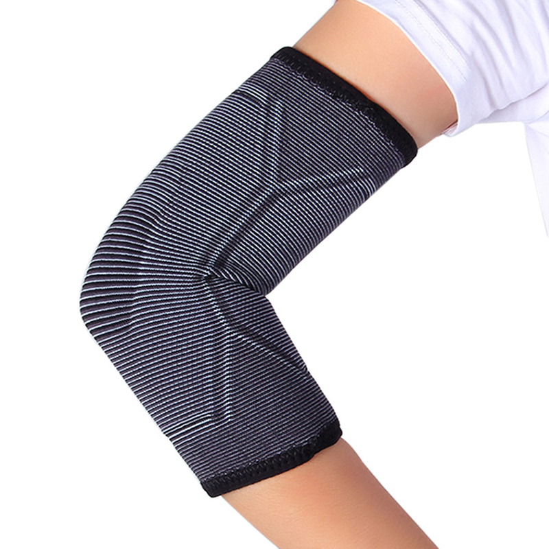 Sports Safety Nylon Elastic Elbow Knee Brace Sleeve Elbow Pads Guard For Volleyball Tennis Elbow Support Absorb Elbow protector