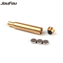 JouFou Tactical CAL.30-06 .25-06 270WIN Cartridge Calibration Instrument Red Laser Boresighter Collimator Used for Hunting Rifle