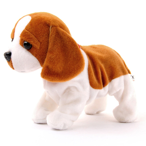 Image 2 - Electronic Pets Sound Control Robot Dogs Bark Stand Walk Cute Interactive Toys Dog Electronic Husky Pekingese Toys For Kids