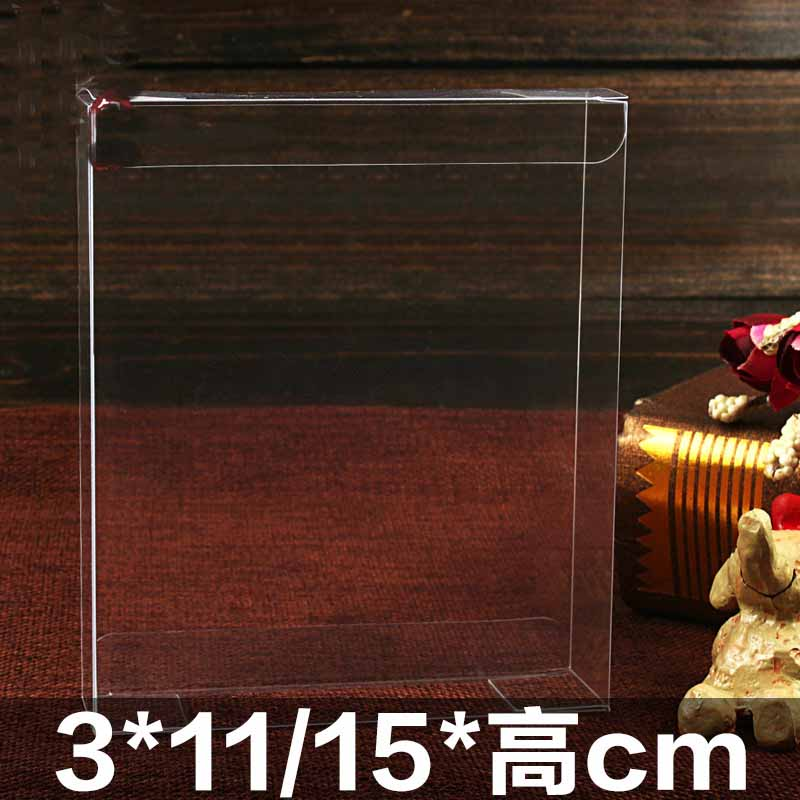 Event Party Sweet Candy Packaging Jewelry Party Birthday Gift Craft PVC Clear Box Wedding Favor Boxes Chocolate Box Toy Pvc Box