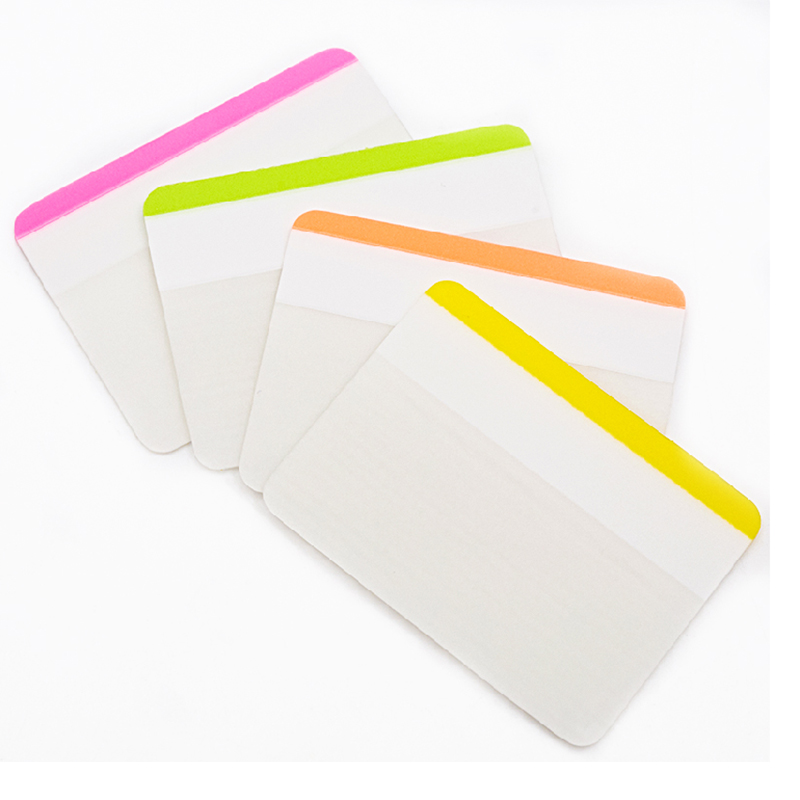 3 packs a lot Plastic sticky notes stickers durable archived labels classified files classified labels 6 pieces*4 colors 10m 5m 3528 5050 rgb led strip light non waterproof led light 10m flexible rgb diode led tape set remote control power adapter