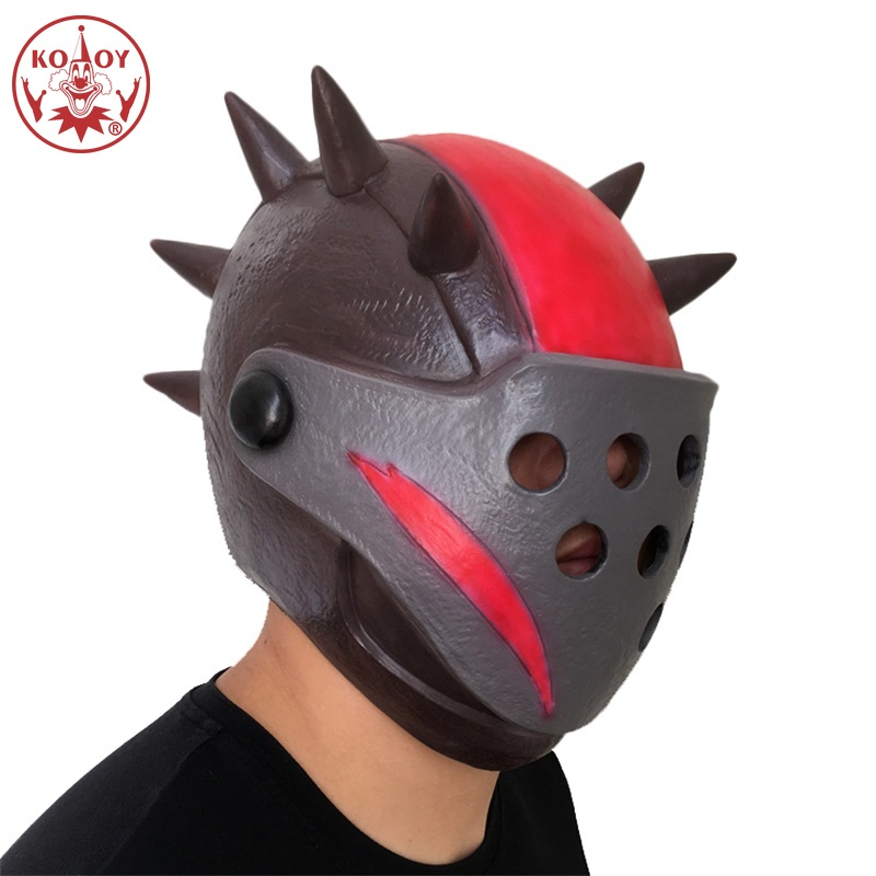 Halloween Cosplay masks Fortress night mask Full Face Horse Head Helmet Adult Latex Mask For cosplay women man Halloween party