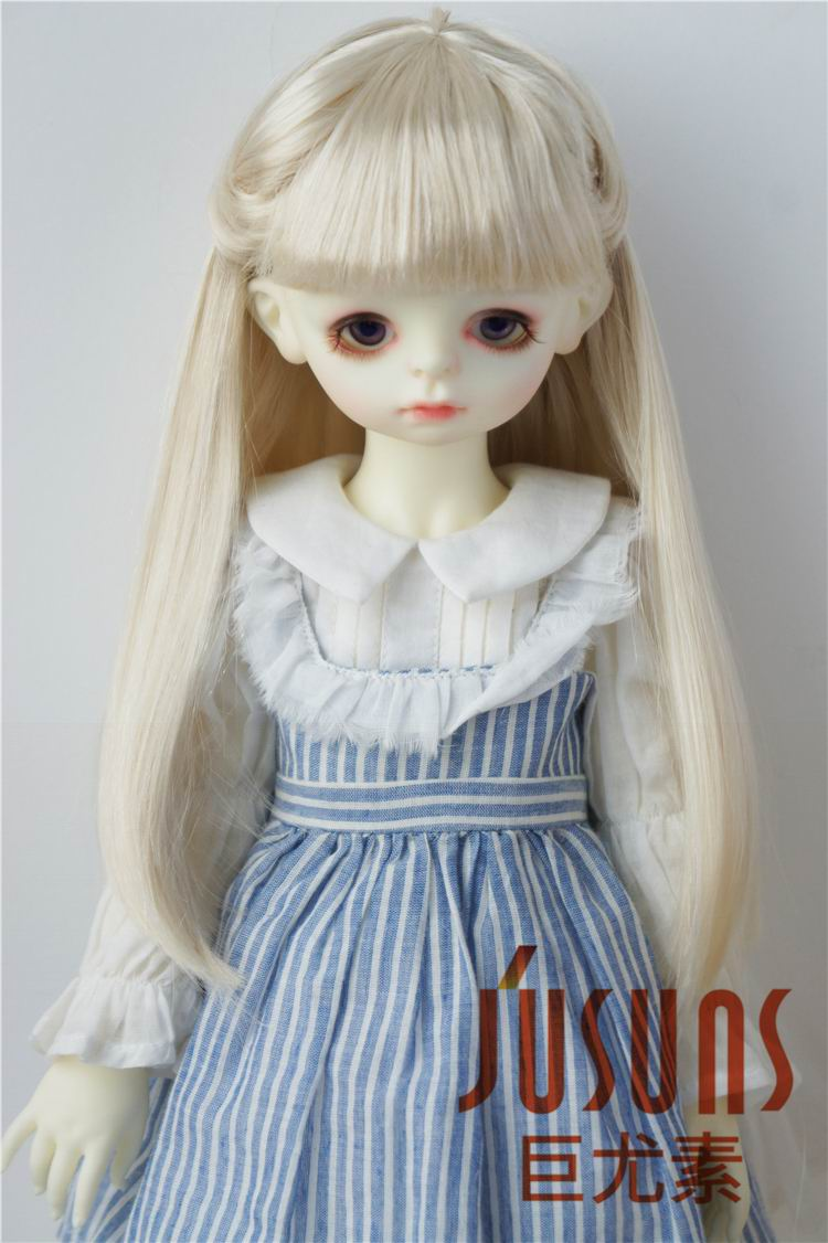 JD088 SD BJD Doll wigs 1/3 Long straight wig Synthetic mohair Hair  8-9 doll accessories 1 3rd scale 65cm bjd nude doll bazael bjd sd doll boy with face up not included clothes wig shoes and accessories