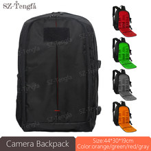 high quality Waterproof Digital DSLR Camera Backpack Multi-functional SLR Camera Bag for Photographer Soft Bag(China)
