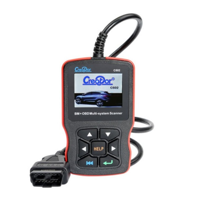 Special Price C502 For Benz OBD Multi-system Scanner Vehicle OBDII Scanner Code Reader Read Trouble Codes Car Diagnosis Scan Automotive Tool