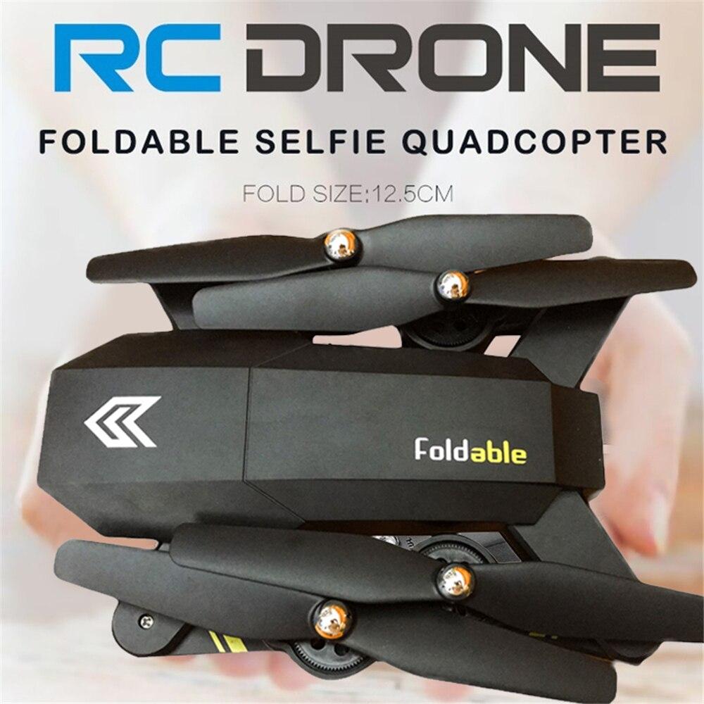 Phoota HD WI-FI камера Безголовый режим Quadcopter 2,4 ГГц 4 осевой гироскоп 0.3MP 480 P Высокое складной FPV беспилотный самолет вертолет подарок