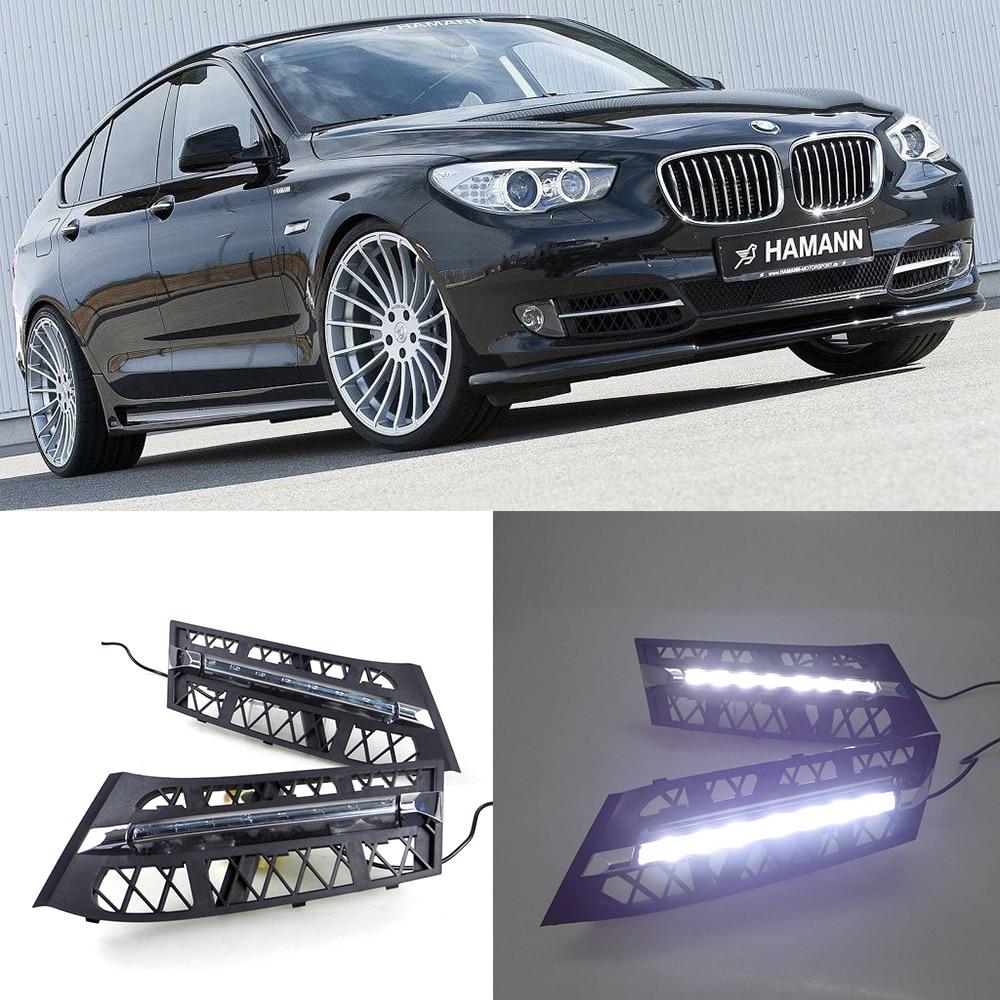 Car LED DRL Waterproof ABS Super Bright 12V LED Daytime