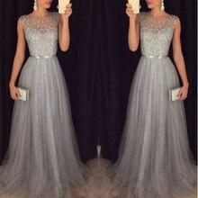 Fashion Sequins Belt Slim Elegant  Dress