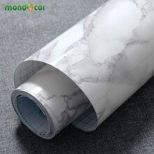Modern PVC Marble Contact Paper Self Adhesive Wallpaper Furniture Bath Tiles Kitchen Countertop Backsplash Vinyl Wall Stickers