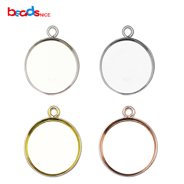 Beadsnice 925 round sterling silver pendant base wholesale bezel beadsnice 925 round sterling silver pendant base wholesale bezel pendant settings blank for gemstone trendy diy aloadofball Image collections