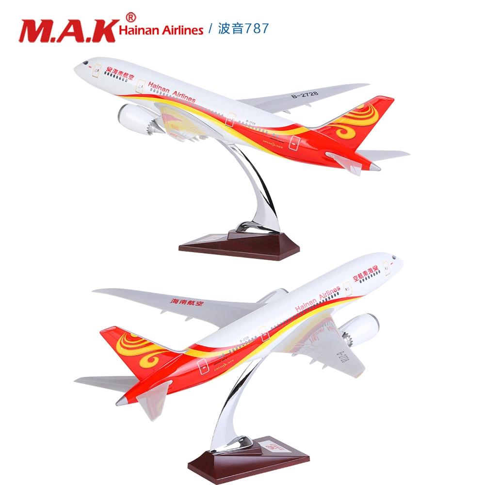 40 cm/43 cm Air chine Hainan Airlines B737 Boeing 737/738 modèle d'avion modèle d'avion en alliage métal avion moulé sous pression jouet enfants cadeau