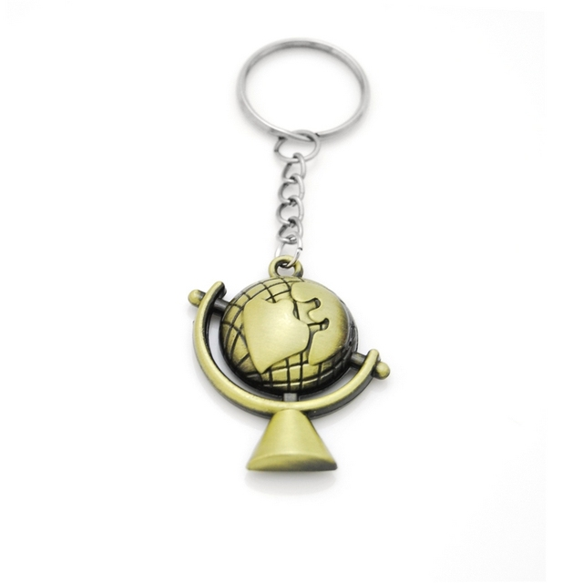 Original new world map key holder vintage globe pendant keychain original new world map key holder vintage globe pendant keychain gift world travel adventurer jewelry keychains gumiabroncs Image collections