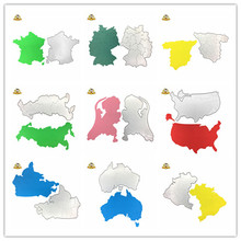 US Germany Canada Word MAP Die Metal Dies Cutting for Scrapbooking Card Making Paper Crafts 2018