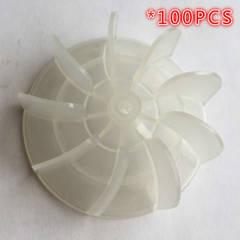 100pcs H30mm diameter 64mm hole 4mm Hair dryer accessories motor fan blades / wind turbine / barber salon common duct wind page демисезонные ботинки common projects obscure achilles mesh low grey page 2 page 3