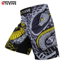 WTUVIVE MMA Boxing Fitness Cats Fighting Sanda Sports Shorts Loose High Quality shorts mma muay thai clothing mma цена
