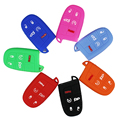 SUNCOOL New 2015 Silicone car key case cover For JEEP Grand Cherokee Dodge JCUV dart Journey Chrysler 300C Fiat car key