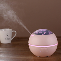 150ML Light And Shadow Aromatherapy Diffuser Air Diffuser Purifier Atomizer Ultrasonic Humidifier For Office Home Bedroom