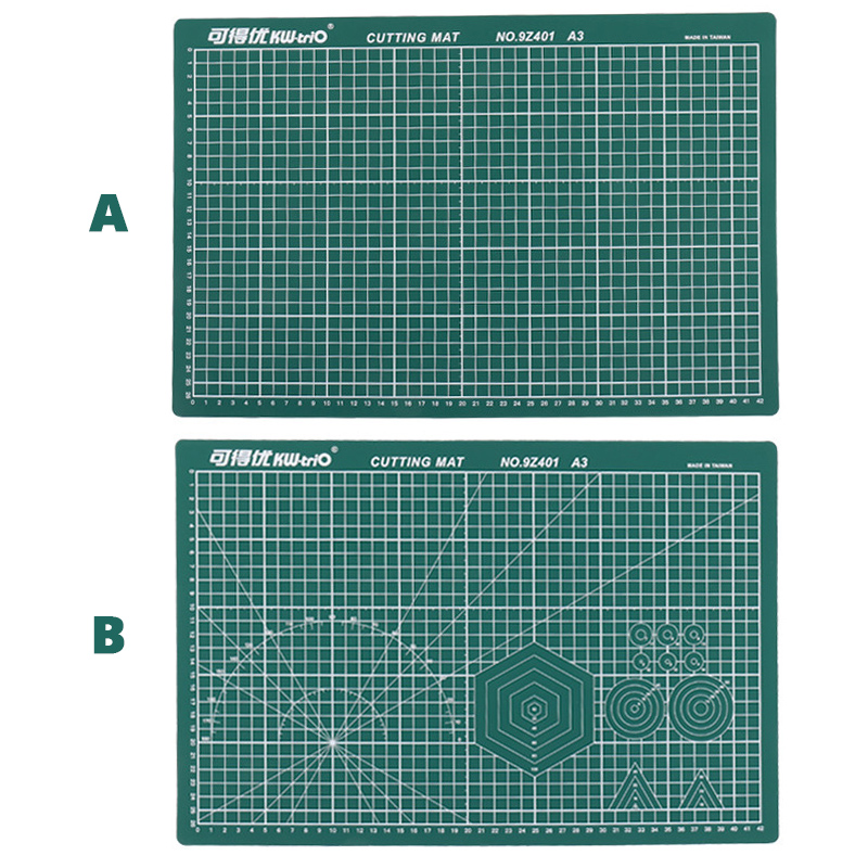 A3 Pvc Cutting Mat Patchwork Cutting Board A3 Double Sided Self Healing Craft Cutting Pad Diy Tools Office School Supplies