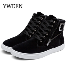 free shipping new arrive mens boots,massage men winter shoes,thick plush man leather shoe