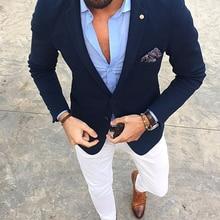 Fashion 2 Piece Men Suits Slim Fit Groom Tuxedos Groomsmen Wedding Party Dinner men latest coat pant designs Best Man Suits